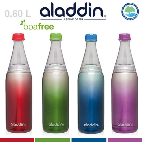 aladdin - Stainless Steel Bistro Twist & Go Bottle 0.6L