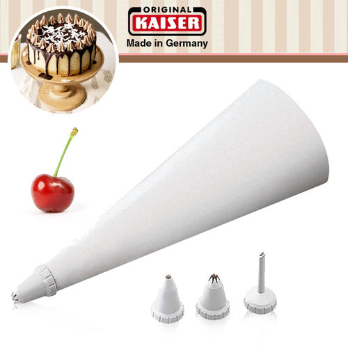 Kaiser - Piping bag set 5-piece patisserie