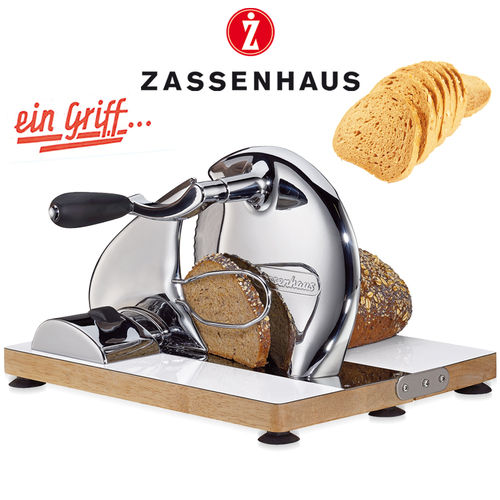 Zassenhaus - Bread slicing machine manually