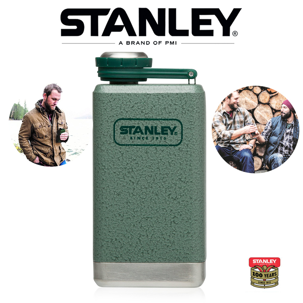 Stanley - Adventure Classic Flask - green 236 ml