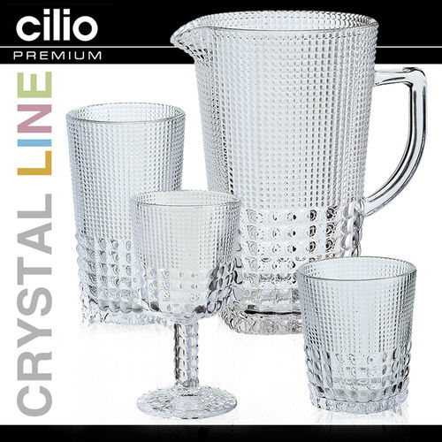 cilio - Glass collection Crystal-Line - crystal-clear