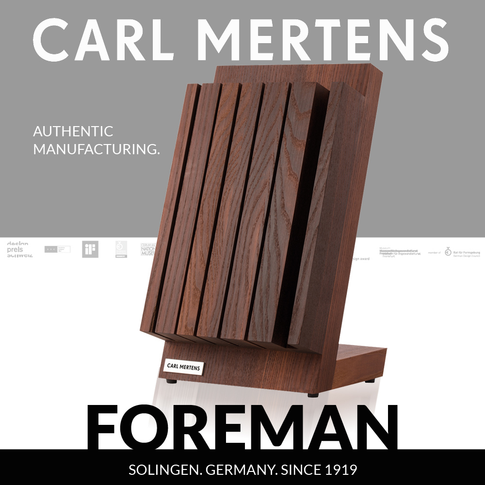 Carl Mertens - FOREMAN - Magnetic Knife Block