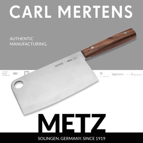 Carl Mertens - METZ - Chopping Knife 16 cm