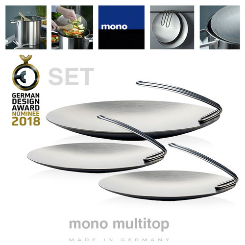 mono - multitop - Kochdeckel - 3er Set