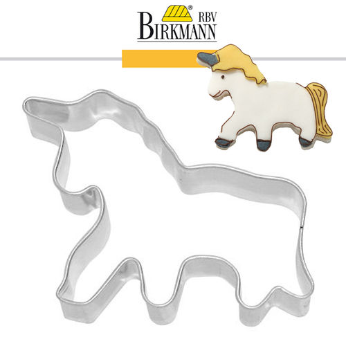 RBV Birkmann - Cookie cutter Unicorn 8 cm
