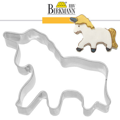 RBV Birkmann - Cookie cutter Unicorn 8,5 cm