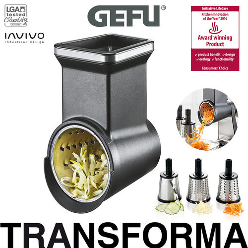 Gefu - Rotary grater attachment TRANSFORMA