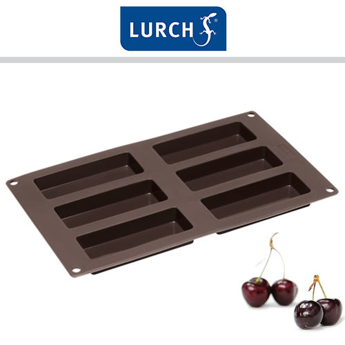 LURCH Flexiform granola bars 30x17,5cm 6x brown