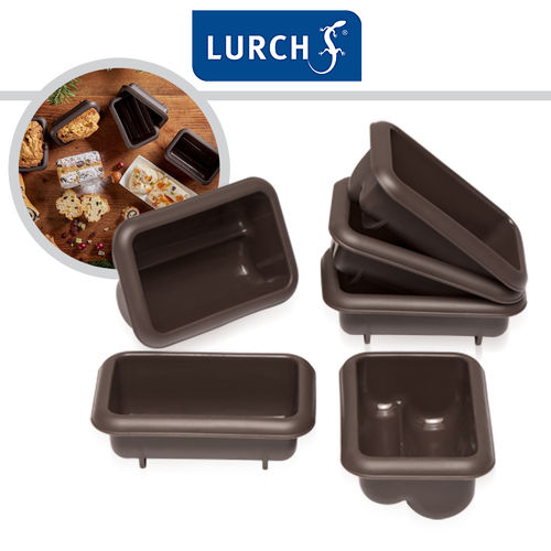 LURCH Flexiform Mini Stollen Set of 6