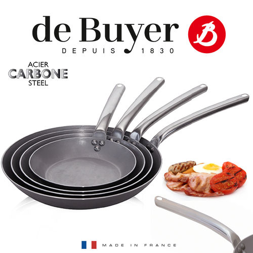 de Buyer - Carbone PLUS - Runde Bratpfanne