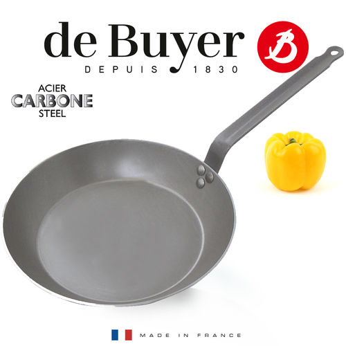 de Buyer - Carbone PLUS - Lyonnaise Bratpfanne