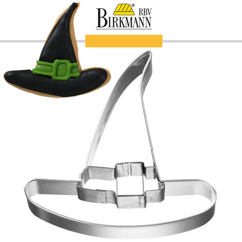 RBV Birkmann - Cookie cutter Witch hat, 6,5 cm