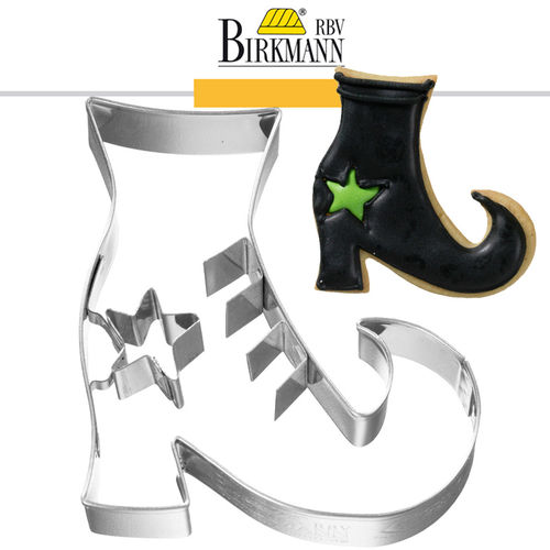 RBV Birkmann - Cookie cutter Witch boots, 6,5 cm