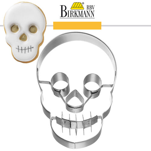 RBV Birkmann - Cookie cutter Head of the skull, 7 cm