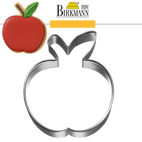 RBV Birkmann - Cookie cutter Apple, 6 cm
