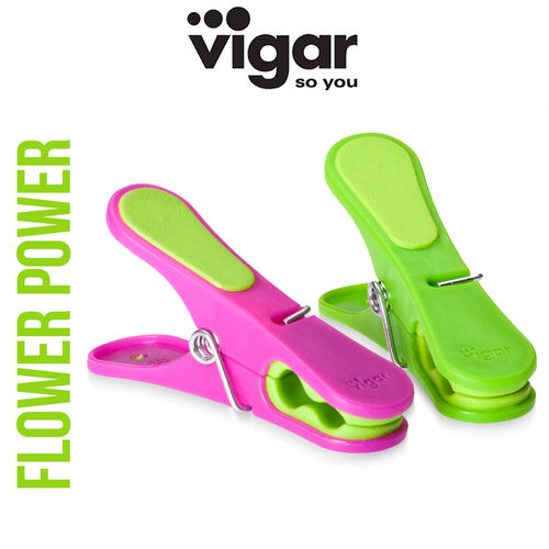 Vigar - Clothespins Flower Power