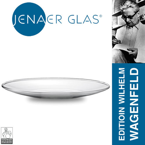 Jenaer glass - Sugar bowl and cream casserole - Wilhelm Wagenfeld