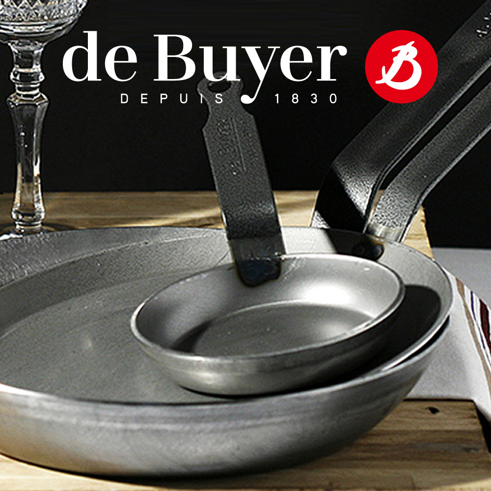 De Buyer Carbone Plus Oval Fish Pan 36 Cm Culinaris