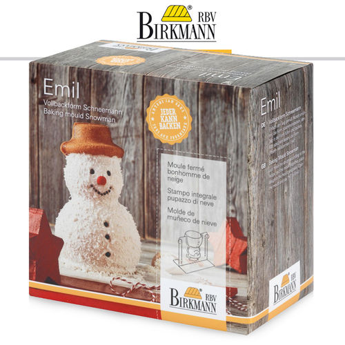 RBV Birkmann - Full baking pan Emil, the snowman