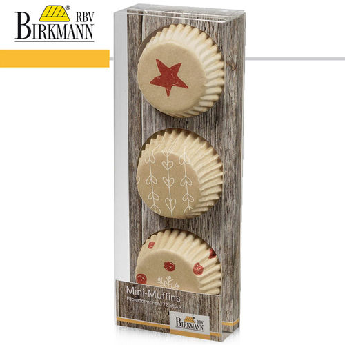 RBV Birkmann - Mini-Muffin-Papierförmchen | Little Christmas I