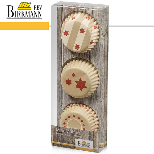 RBV Birkmann - Mini-Muffin-Papierförmchen | Little Christmas II