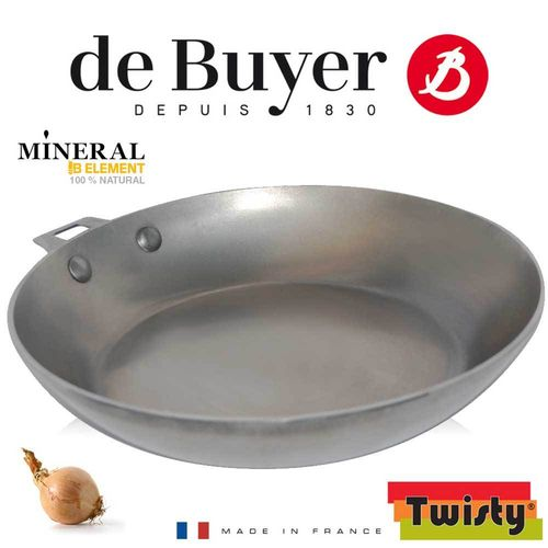 de Buyer - Mineral B Element - Round Frypan without handle