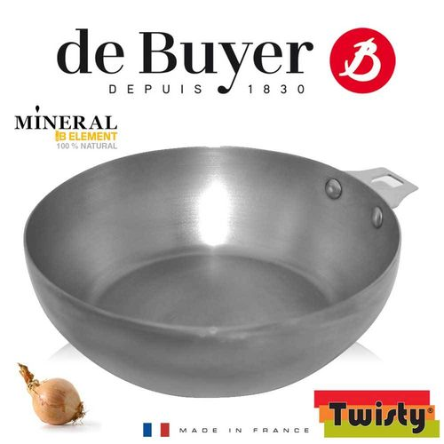 de Buyer - Mineral B Element - Round Country pan 24 cm