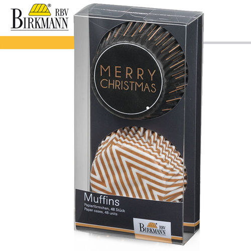 RBV Birkmann - Muffin paper form | Christmas Glamour I