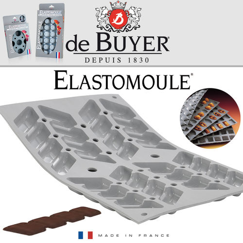 de Buyer - ELASTOMOULE - 8 Croquant