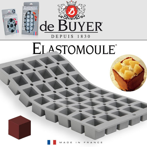 de Buyer - ELASTOMOULE - 40 Mini Cubes