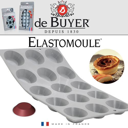 de Buyer - ELASTOMOULE - 15 Mini Törtchen