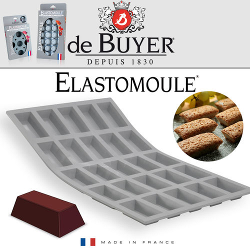 de Buyer - ELASTOMOULE - 25 Mini Finanzier