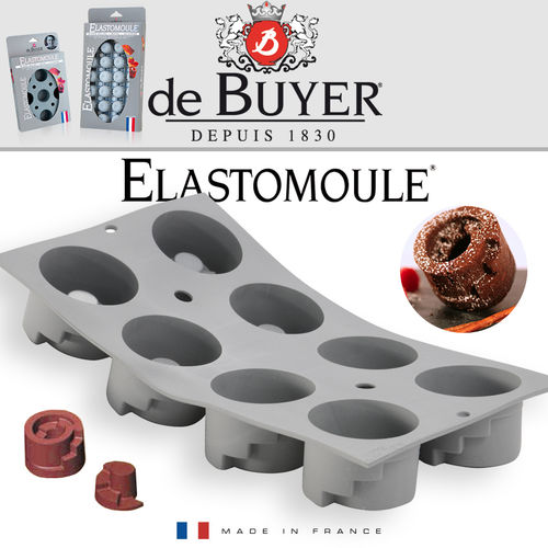 de Buyer - ELASTOMOULE - 8 Zylinder Treppe