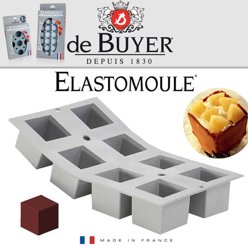 de Buyer - ELASTOMOULE - 8 Cubes