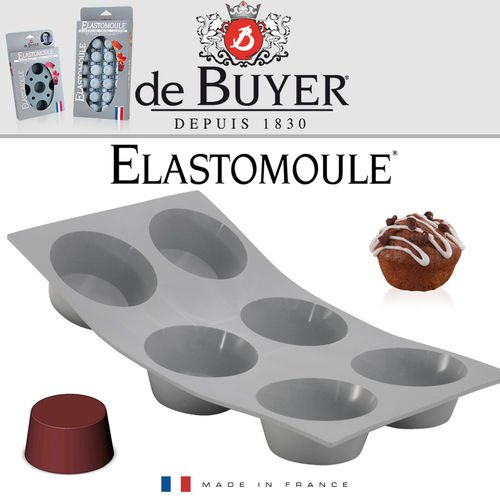 de Buyer - ELASTOMOULE - 6 Muffins