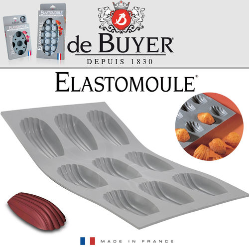 de Buyer - ELASTOMOULE - 9 Madeleine