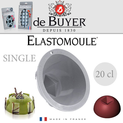 de Buyer - ELASTOMOULE Single - Halbkugel 9,5 cm