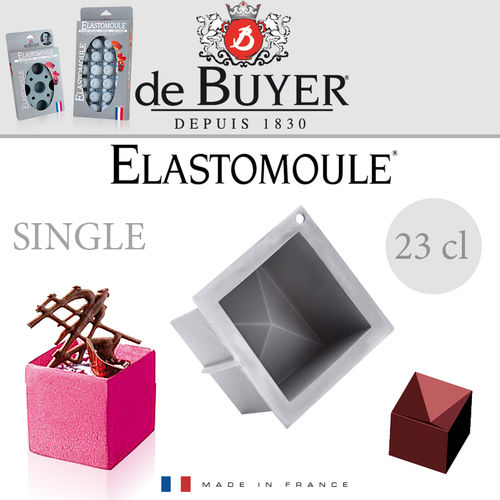 de Buyer - ELASTOMOULE Single - Würfel 6,5 cm