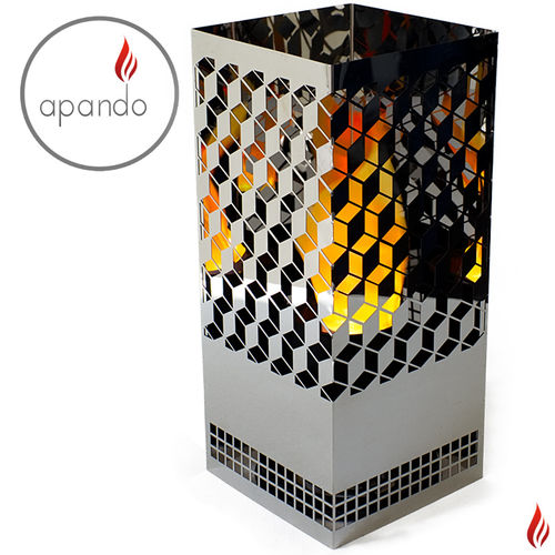 "Apando - Flammenleuchte ""Square Brazier"" - Diamonds"