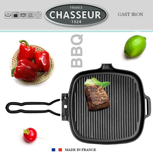 Chasseur - Square Meat Grill 27 x 25 cm