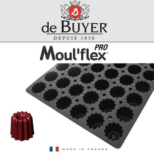 de Buyer - Moul'flex Pro - Cannelés Bordelais - 54 Gebäcke