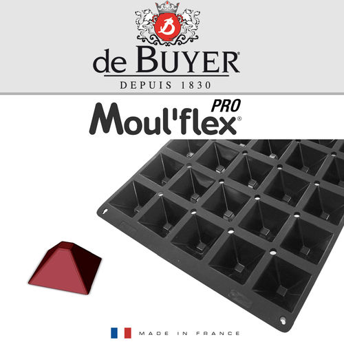 de Buyer - Moul'flex Pro - mini Pyramide