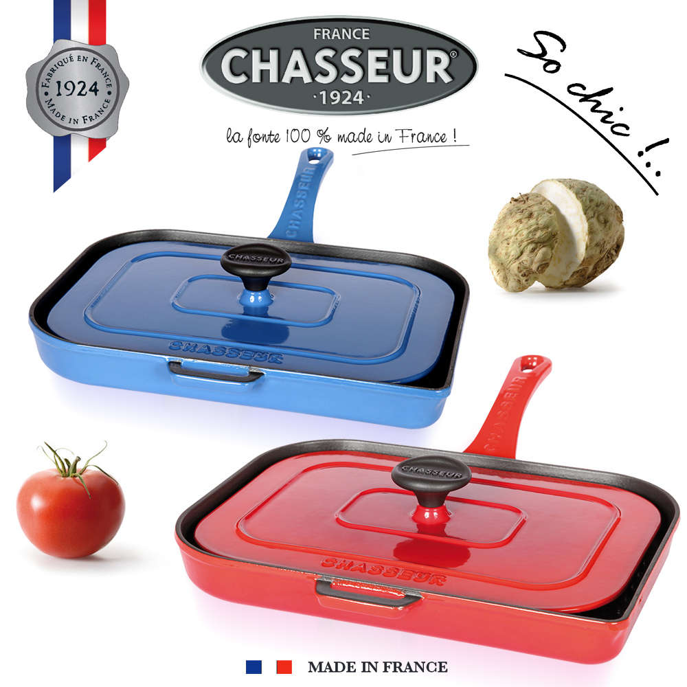 Casser Un Bar De Cuisine chasseur - double grill for panini and meat - cookfunky
