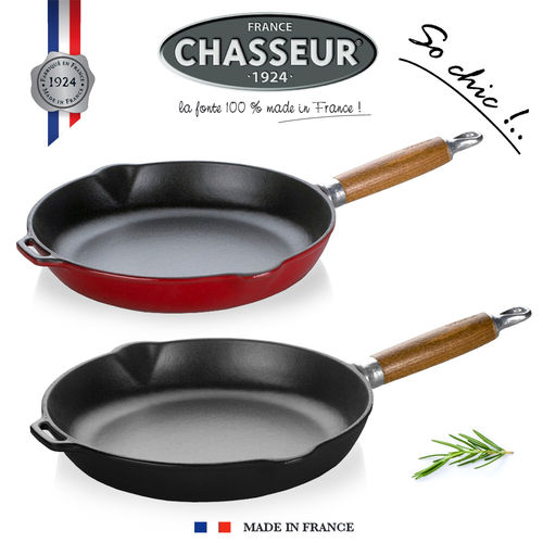 Chasseur - Frypan with Wood Handle