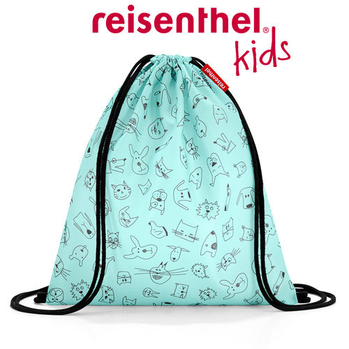 reisenthel - mysac - kids - cats and dogs mint