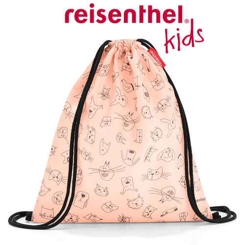 reisenthel - mysac - kids - cats and dogs rose