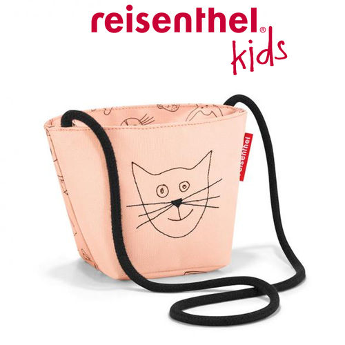 reisenthel - minibag - kids - cats and dogs rose
