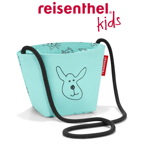 reisenthel - minibag - kids - cats and dogs mint