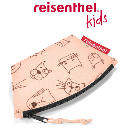 reisenthel - coin purse - kids - cats and dogs rose