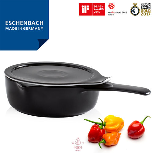 Eschenbach - COOK & SERVE - Kasserolle schwarz